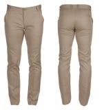 Pantaloni del denim del ` s degli uomini Immagine Stock