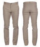 Pantaloni del denim del ` s degli uomini Fotografie Stock Libere da Diritti