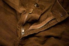 Pantaloni del velluto fotografia stock libera da diritti