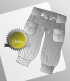 Pantaloni dell'annata del modello dell'abito delle ragazze Immagini Stock