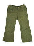 Pantaloni di Cordudoy Fotografia Stock Libera da Diritti