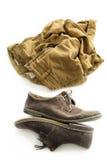 Pantaloni e scarpe Fotografie Stock