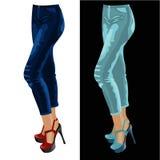 Pantaloni per le donne su un manichino Fotografia Stock