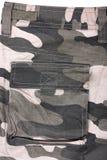 Pantaloni pieni della tasca del primo piano Fotografia Stock Libera da Diritti