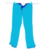 Pantalons illustration stock