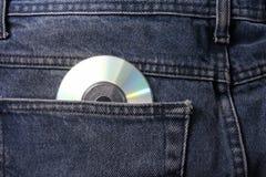 Pantalons avec du Cd Photographie stock libre de droits