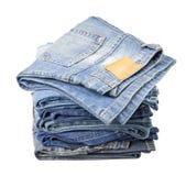 Pantalons de jeans Photographie stock