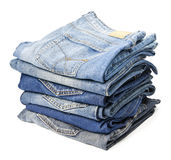 Pantalons de jeans Photo libre de droits