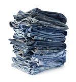 Pantalons de jeans Images libres de droits