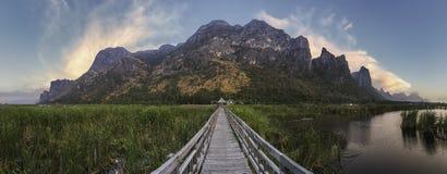 Pantanais de Sam Roi Yot, Tailândia Imagem de Stock