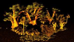 Pantanal ilustração royalty free