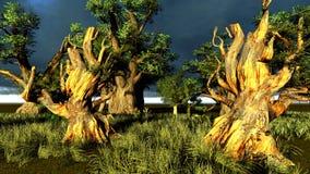 Pantanal ilustração stock