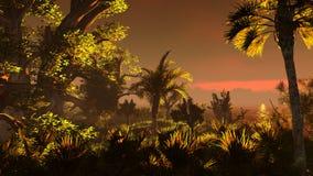 Pantanal ilustração do vetor