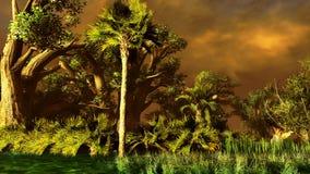 Pantanal - pântano ilustração royalty free