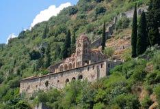 Pantanassa Byzantine Monastery Mystras Stock Photos