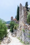 Pantanassa Byzantine Monastery Mystras Royalty Free Stock Image
