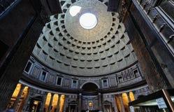 Panteão, a abóbada Fotografia de Stock