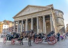 Panteão em Roma Foto de Stock Royalty Free