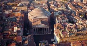 Panteão em Roma video estoque