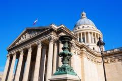Panteão histórico em Paris, França Imagem de Stock