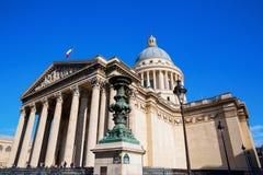 Panteão histórico em Paris, França Fotos de Stock Royalty Free