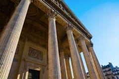 Panteão histórico em Paris, França Foto de Stock