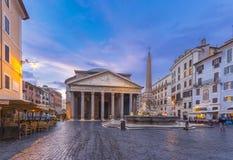Panteão na manhã Fotos de Stock Royalty Free