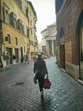 Panteão Roma Itália Imagens de Stock