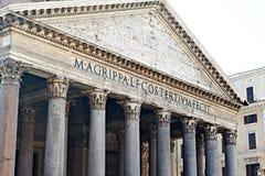 Panteão, Roma, Italy Foto de Stock