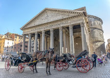 Panteón en Roma Foto de archivo libre de regalías