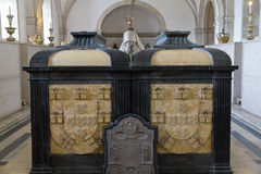 Panteón en Sao Vicente de Fora Lisboa, Portugal Imagenes de archivo