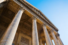 Panteón histórico en París, Francia Foto de archivo libre de regalías