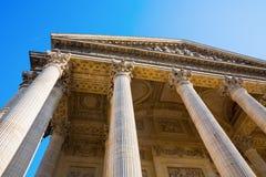 Panteón histórico en París, Francia Fotografía de archivo
