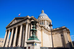 Panteón histórico en París, Francia Fotos de archivo libres de regalías