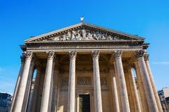 Panteón histórico en París, Francia Foto de archivo