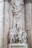 Panteón París Francia Imagenes de archivo