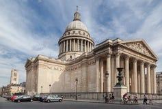 Panteón París Francia Fotos de archivo libres de regalías