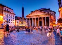 Panteón, Roma Imagenes de archivo