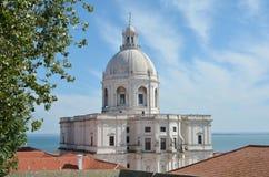 Panteao nacional in Lissabon Stockbild