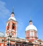Panteleimon教会, StPetersburg 图库摄影