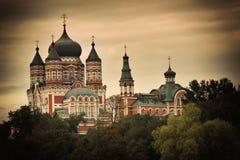 Panteleimon monaster Zdjęcia Stock