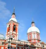 Panteleimonkerk, St. Petersburg stock fotografie