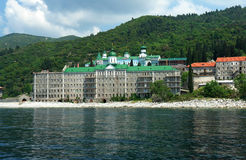 panteleimonos μοναστηριών Στοκ εικόνα με δικαίωμα ελεύθερης χρήσης