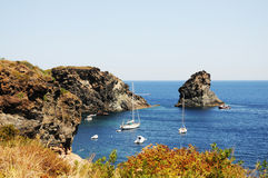 Pantelleria. Is the largest island of Italy, near africa Stock Photo