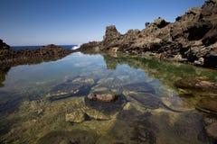 Pantelleria beach Royalty Free Stock Photos