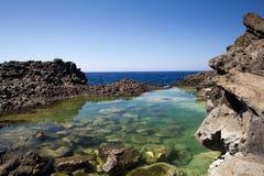 Pantelleria beach Royalty Free Stock Photography