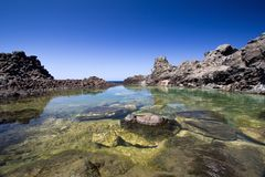 Pantelleria beach Stock Images