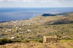 Pantelleria Landschaft stockfoto
