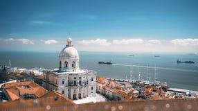 Panteão nacional, em Lisboa Imagem de Stock Royalty Free
