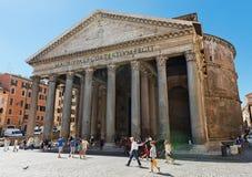 Panteon bemyndigades av Marcus Agrippa som en tempel till a Royaltyfri Foto